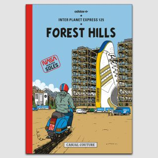 Forest Hills A2 Poster