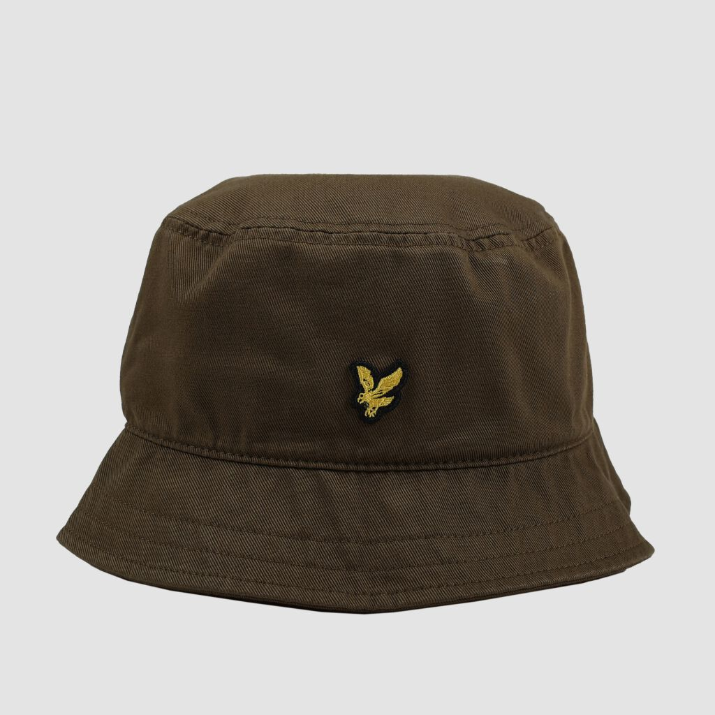 Twill Bucket Hat - olive grün