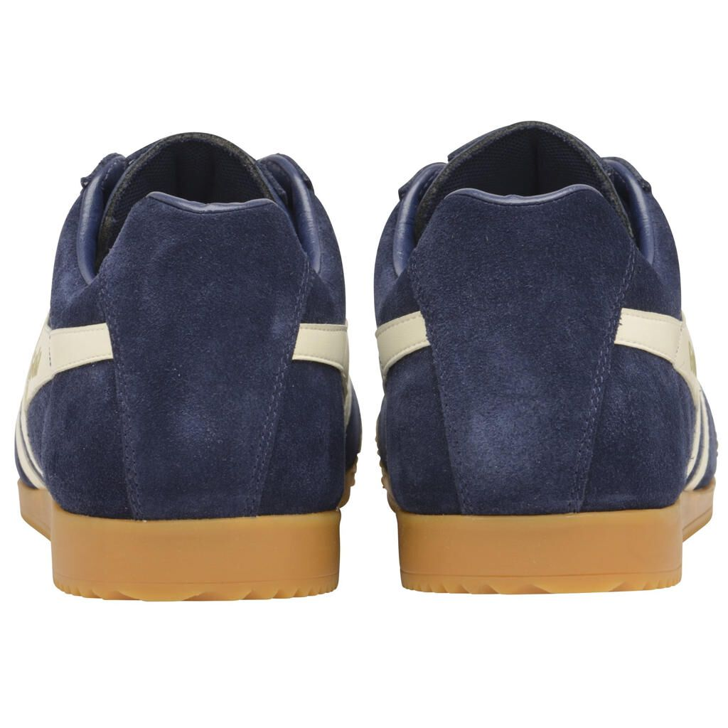 Harrier Suede - navy blau/weiß