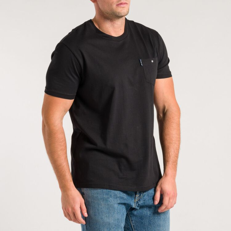 Pocket T-Shirt - schwarz