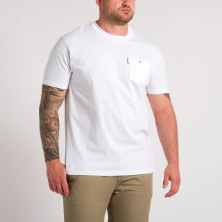 Pocket T-Shirt - weiß