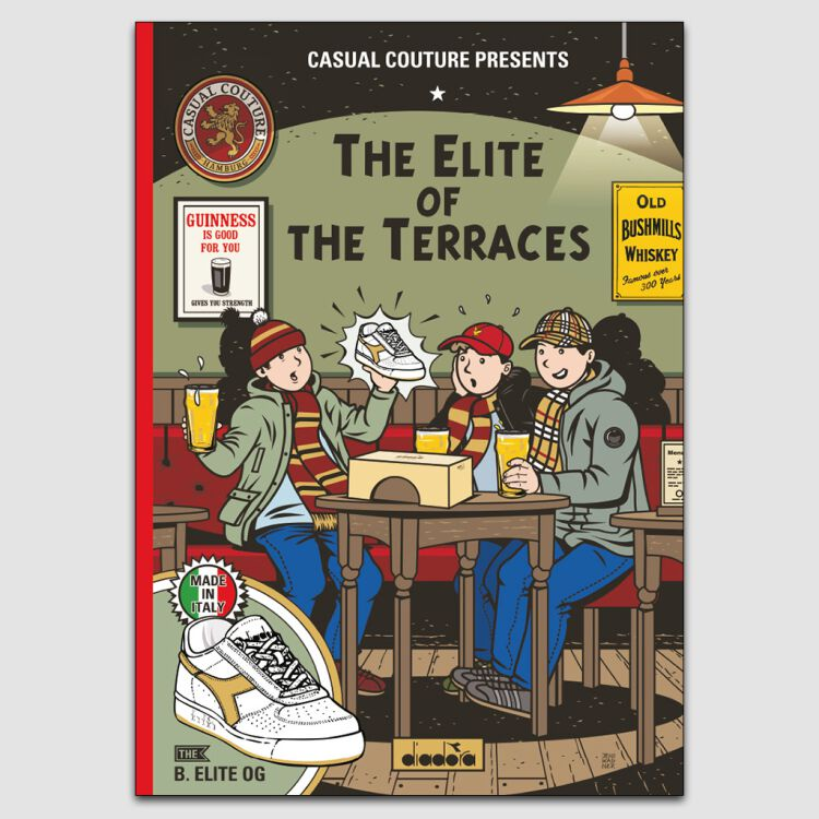 Elite of the Terraces A3 Poster