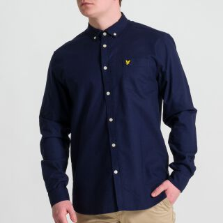 Oxford Hemd - navy blau
