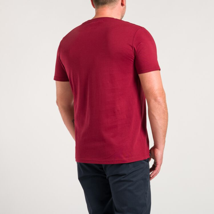 Old School T-Shirt - weinrot