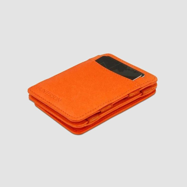 Magic Coin Wallet RFID Portemonnaie - orange