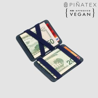 Vegan Magic  Wallet RFID Portemonnaie - navy blau